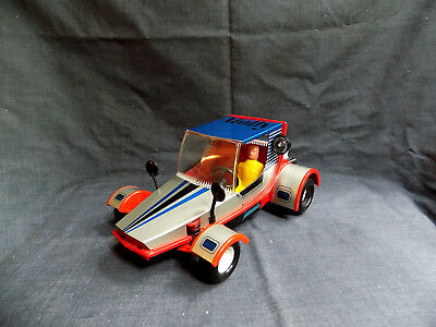 VINTAGE Tin Toy Friction Car MOLLY - DOLLY CAR (DDR)  By MSB - 2416 With a Box