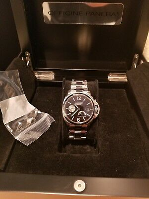 d371a422afe02 Panerai Luminor Automatic Power Reserve PAM00126 Stainless Steel in  original box