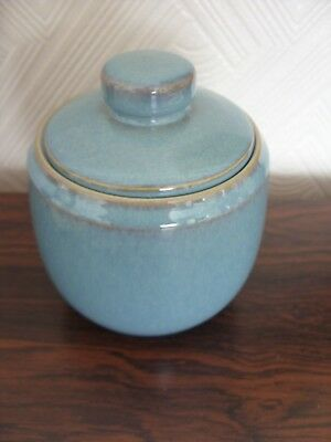 Denby  Azure  Lidded Sugar Bowl