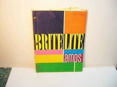 Brite Lite Lamps Fixtures Catalog with  Supplements