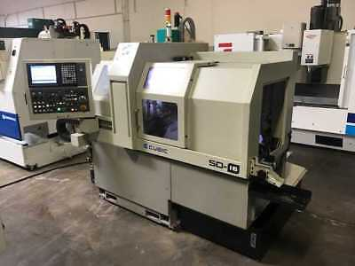 2012 Cubic/eurotech Cnc Swiss Screw Machine Mitsubishi M70 Control  (Video)