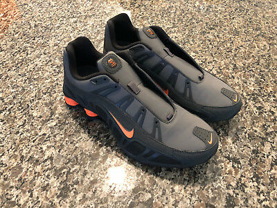 new products 4a4de 18c2c NIKE Shox Turbo 3.2 SL Mens Running Shoes SIZE 10.5 Dark Grey/Total Orange