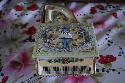 Ashtray Cigarette Vintage Holder Tobacco Antique Cigar Piano Collectible Smoking