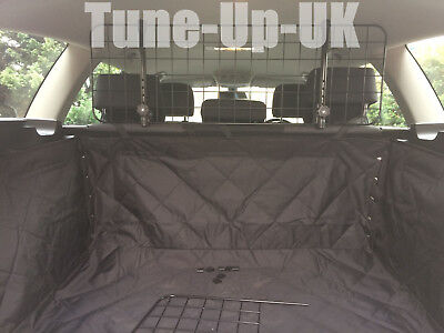 Mesh Headrest Pet Dog Guard + Quilted Boot Liner For SUZUKI JIMNY (98-)