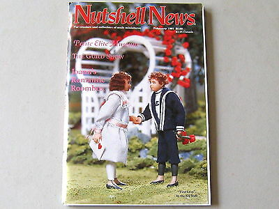 #2081 February 1993  Nutshell News Minatures Magazine For Creators & Collectors