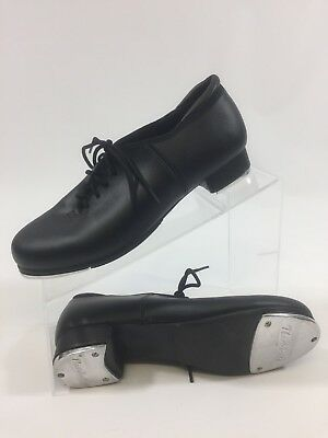 Theatrical Black Women's size 6.5M Laced Tap Dance Shoes