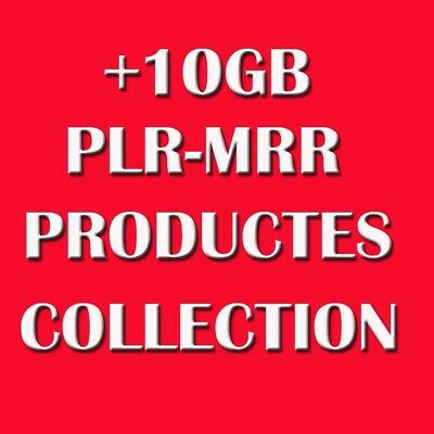 10 GB plr products ebooks videos tutorials 4 online projects affiliate marketing