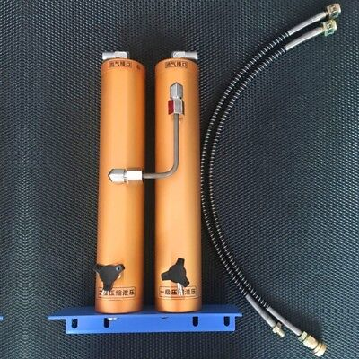 High Pressure Air Compressor 30MPa Professional Oil-water Separator Double filte