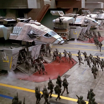 Starship Troopers Film Cell Lot Mobile Infantry vs Bugs Sci-Fi Future War