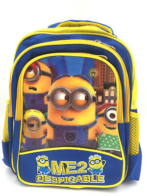 658a05ac336 New Despicable Me Minions Kids Boys Girls Backpack Children Shoulder School  Bag