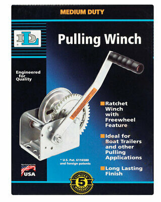 Winch Hand Ratchet 1400# By Dutton Mfrpartno Dl1402A