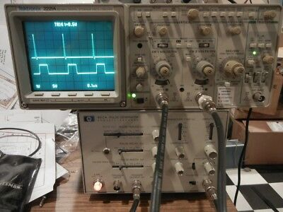 HP 8012A PULSE GENERATOR; Very clean and completely functional.