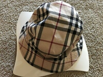 87e0ccb3a76 Burberry Bucket Hat - One Size - great condition - FREE SHIPPING