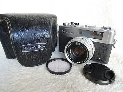 【NEAR MINT】Yashica Electro 35 GX 35mm Rangefinder Film Camera  w/Case,from Japan
