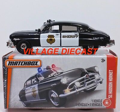 matchbox uk card 2017 57 39 51 hudson hornet sheriff. Black Bedroom Furniture Sets. Home Design Ideas