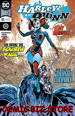 Harley Quinn #45 (2018) 1St Printing Bagged & Boarded Dc Universe Rebirth