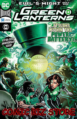 Green Lanterns #50 (2018) 1St Printing Main Cover Bagged & Boarded Dc Universe