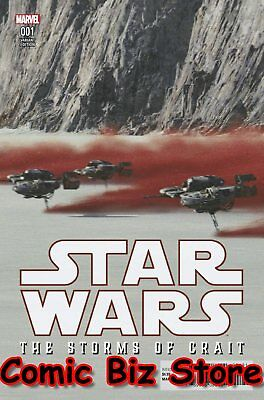 Star Wars Last Jedi Storms Of Crait #1 (2018) 1St Printing Movie Variant Cover