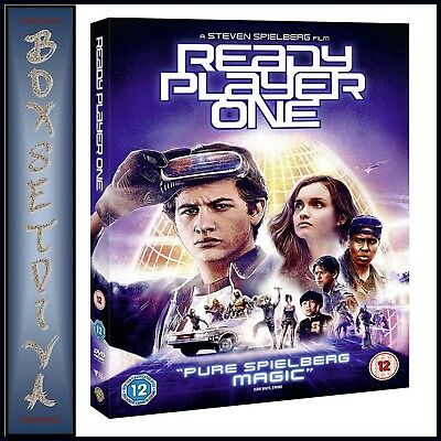 READY PLAYER ONE - starring Tye Sheridan and Olivia Cooke  **BRAND NEW DVD