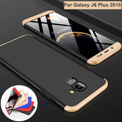 360 Full Cover Hybrid Armor Case for Samsung Galaxy A6 A8 J4 J6 Plus 2018 Shell