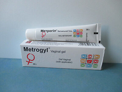 VAGINAL GEL IN A TUBE with applicator (30G) Metrogyl (10mg/g)