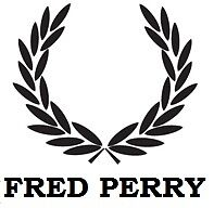 Fred Perry Logo to fit Vespa & lambretta & Scomadi Choice of colours (4x4 inch)