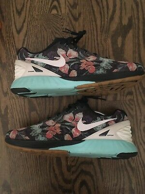 best sneakers 5d2cc dd7f8 Nike LunarGlide 6 Photosynthesis Men 776259-401 Floral Running Shoes Sz 10  Mens