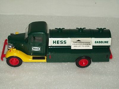 1985 The First  Hess Toy Truck Bank  Mint In Original Box