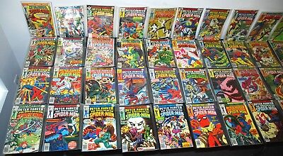 1976-90 Marvel Peter Parker Spectacular Spider-Man #1-164 Run F-Vf To Nm-Mt B11