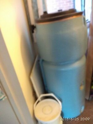 COPPER DIRECT HOT water cylinder - insulated - 900 x 450 - Little ...