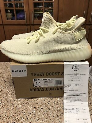 3c188b4e6 yeezy boost 350 v2 Men s Size 12 100% Authentic W receipt (Footlocker)