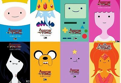 Adventure Time: The Complete Seasons 1-8 DVD 1 2 3 4 5 6 7 8 US Seller New