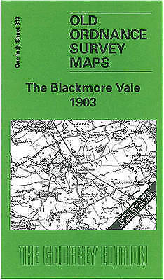 OLD ORDNANCE SURVEY MAP The Blackmore Vale 1903: One Inch Sheet 313
