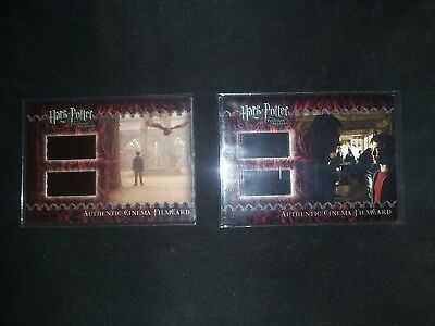 Harry Potter Prisoner of Azkaban Film Cel Cards