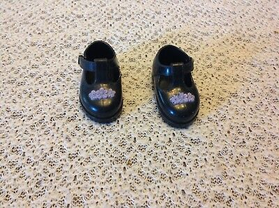 The Amazing Ally Interactive playmates doll shoes Black purple