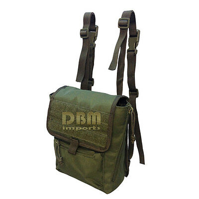 Tactical Large Binocular Pouch MOLLE PALS Webbing Solft Padded Interior OD Green