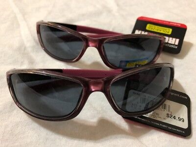 6f24ce8868 Pair of 2 Foster Grant Ironman Pink Victorious Polarized Sunglasses 100% UVA  UVB
