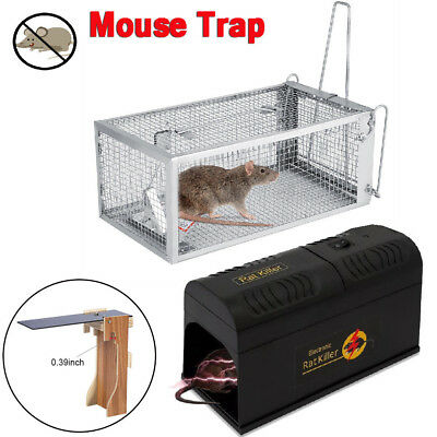 The Plank Mouse Trap & Electronic Rodent Killer & Mouse Trap Cage for Mice Rat