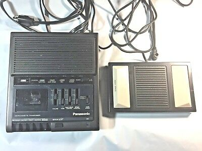 Panasonic Microcassette Transcriber With Foot Peddle (RR-930 / RP-2692)