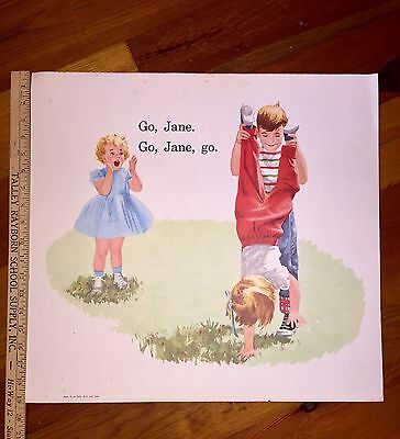 """Dick And Jane Sally Spot """"Our Big Book"""" Selected Cards For Framing"""