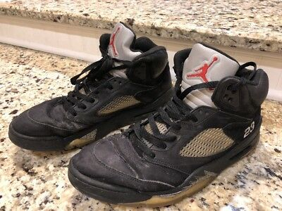 14de1e5c8d6 2011 NIKE AIR JORDAN 5 V RETRO Black Metallic Silver 136027-010 Size 11  BEATERS