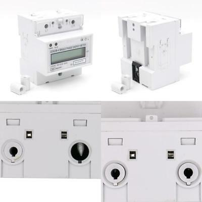 1Pcs Dds238-4 20100 Single Phase Din-Rail Type Kilowatt Hour Kwh Meter 220V 60Hz