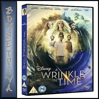 A WRINKLE IN TIME - Starring Reese Witherspoon and Chris Pine ***BRAND NEW DVD