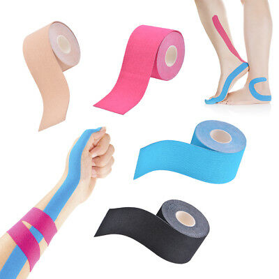 Kinesiology Tape Muscle Pain Relief Therapeutic Sport Support Elastic Bandage