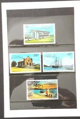 Nice Bundle Of St.Vincent Postage and 2 St. Vincent First Day Covers