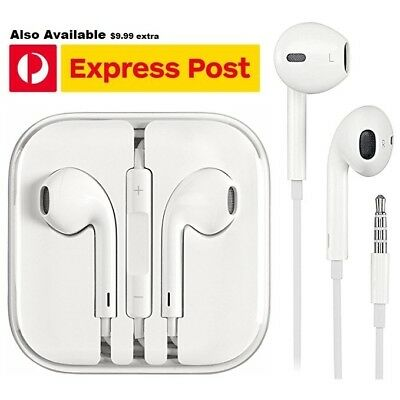For Apple  EarPods Earphones Headphones For iphone 6 6s Plus 5 5s iPad Mic ipod