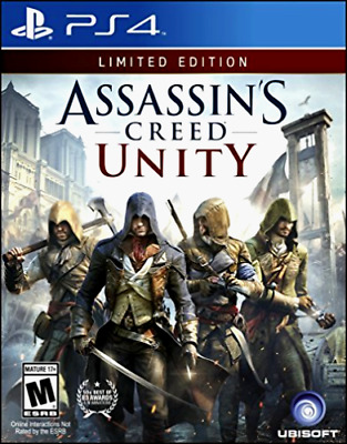 Assassins Creed Unity PS4 Playstation 4 Game Brand New In Stock From Brisbane