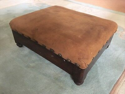 Small Georgian footstool (ref 18.5.053)