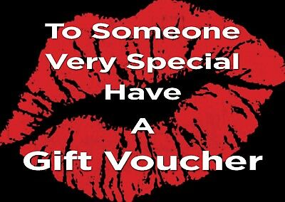 Blank Beauty Gift card coupon  x10 + Free Envelopes...