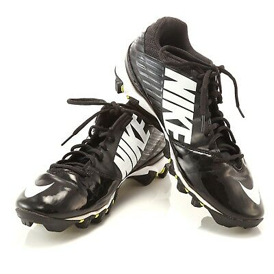 45dc74e2d Nike Vapor Shark Black White Football Cleats Mens Size 10 SN 643162-010